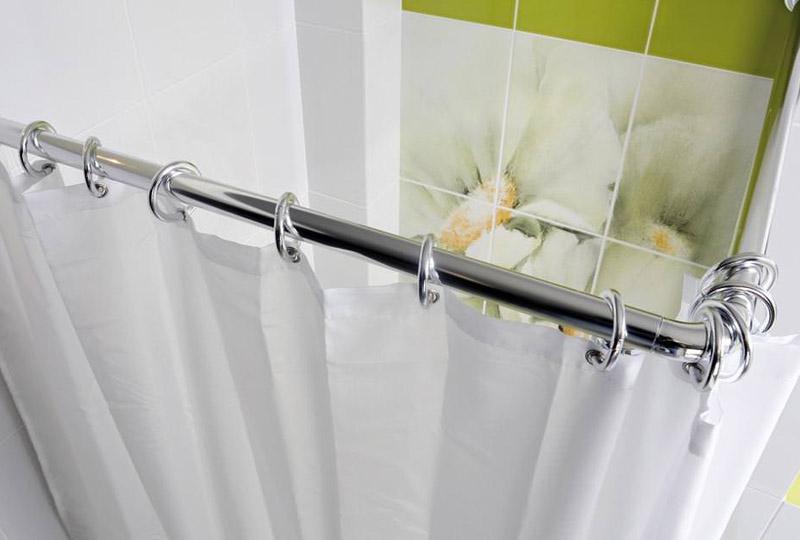 Из чего сделать штангу для ванной своими руками