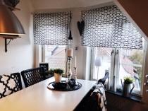 Шторы в кухню, фото новинки 2018 года, самые красивые кухонные шторы