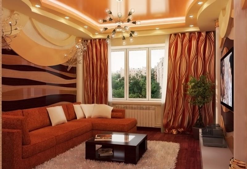 Дизайн интерьера гостиной хрущевки