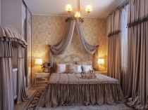 Boudoir-Styling-Romantic-Bedroom-Decoration-with-Dramatic-Curtain-Swags-and-Dust-Ruffles