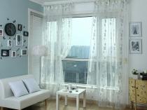 Красивая-Ikea-современный-занавес-окно-скрининга-балкон-занавески-для-гостиной-дверь-шторы-балдахин-москитная-сетка