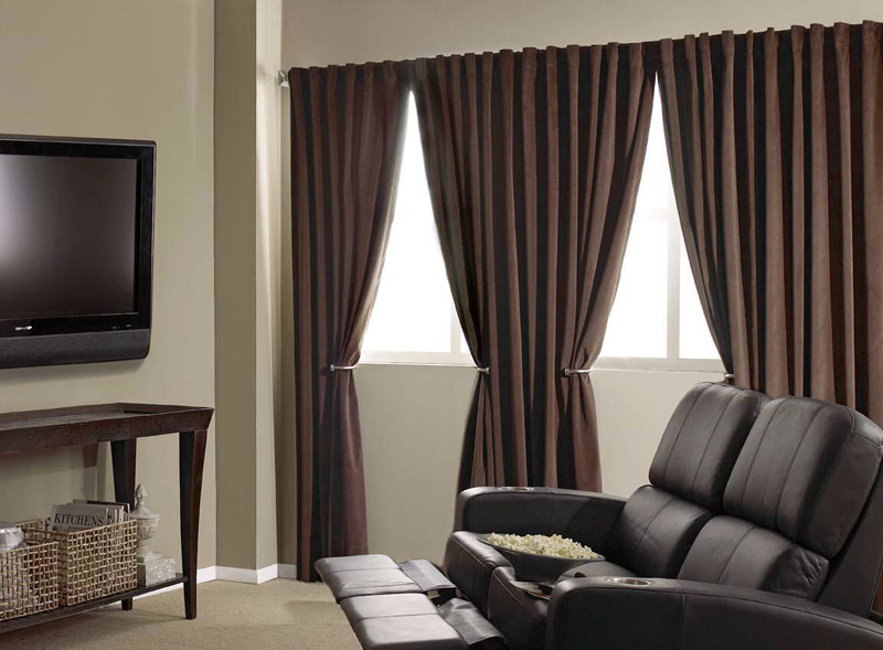 Blackout curtains liner