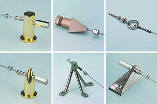Существуют различные варианты держателей для струн