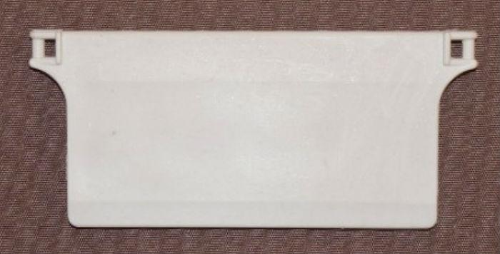 Утяжелитель готовый, вкладывается в нижний кармашек ламели, чтобы полоски располагались строго вертикально