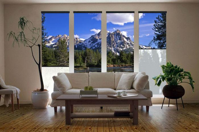 Жалюзи с фотопечатью помогут создать любую визуальную панораму за окном