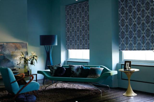 В зависимости от дизайна полотна, рулонные модели одинаково уместны, как в домашнем интерьере, так и для оформления офисных помещений