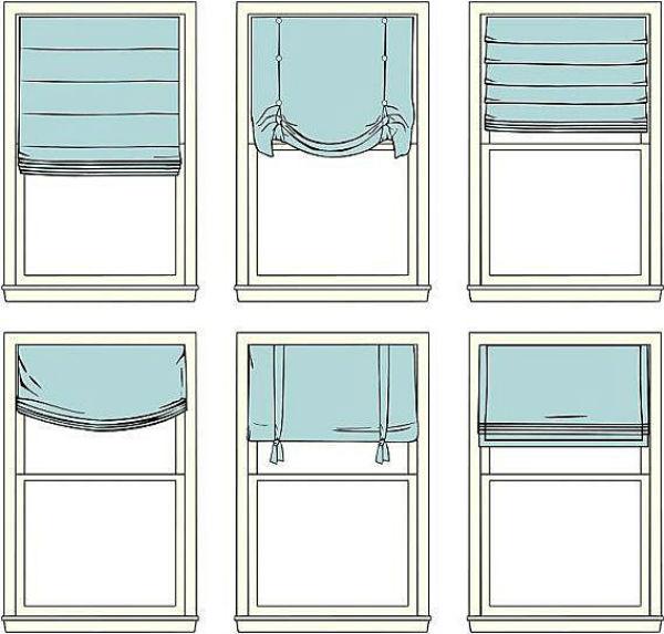 Как сделать шторки в ванной 110
