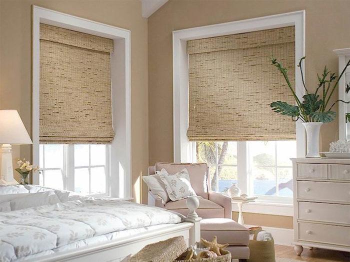 Бамбуковые шторы гораздо лучше привычных нам жализей