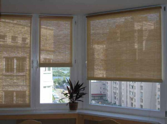 Бамбуковые шторы очень просты в уходе
