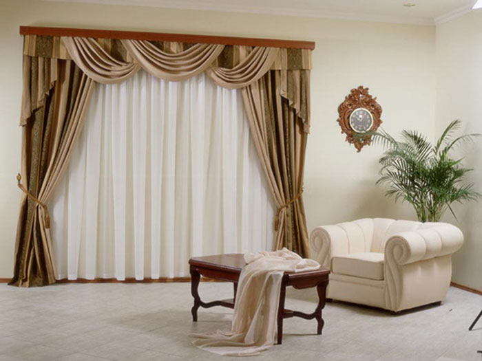 Фото классических штор
