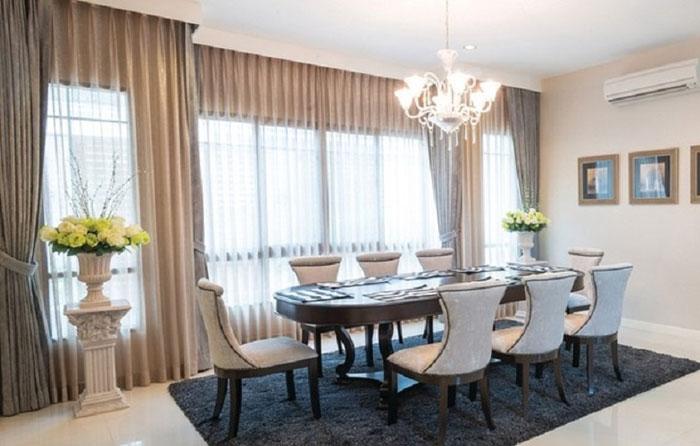 Фото шторы из вуали в интерьере комнаты