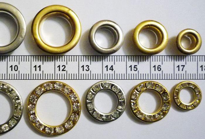 Вариации размеров колец