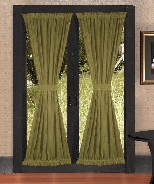 Как сшить шторы на дверь своими руками