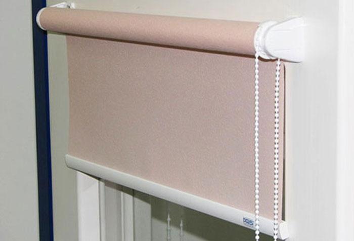 Рулонные шторы системы Mini самые простые в установке
