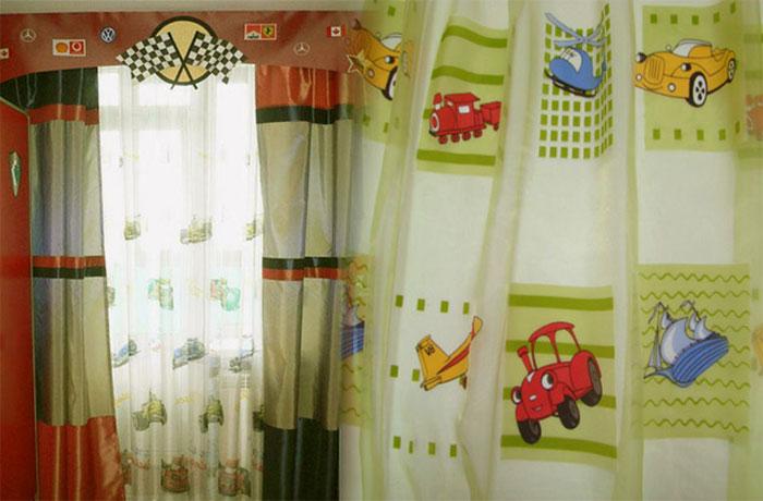 Пример оформления для спальни мальчика