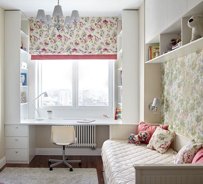 Пример декорирования комнаты девочки