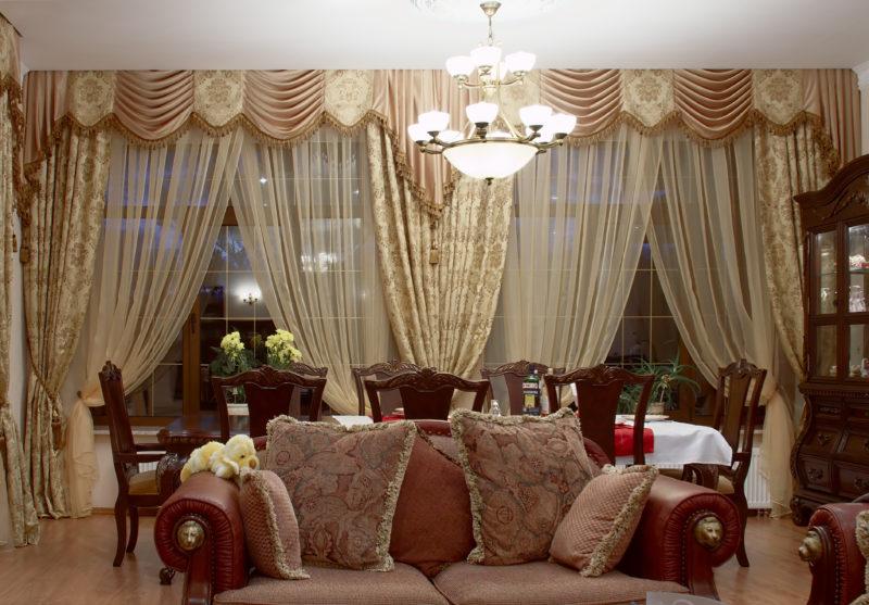 Портьеры для гостиной