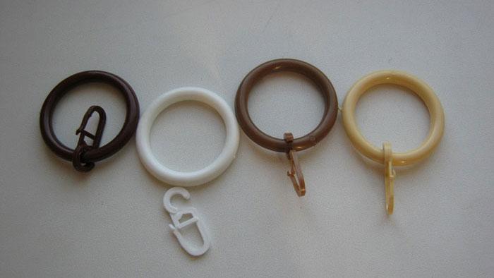 Кольца с крючками, представлены в разных цветах