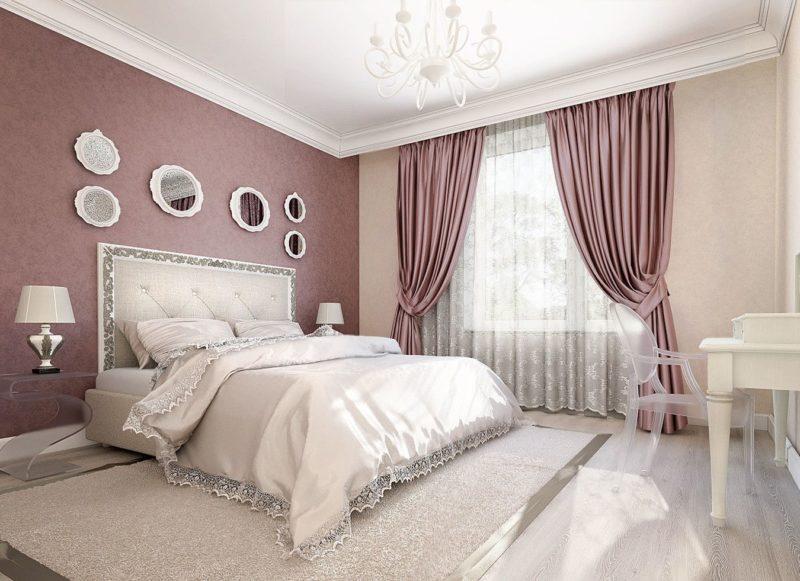 Полиэстер отлично сохраняет все богатство красок и радует каждый день яркими цветами. Пример штор 100% с полиэстера.